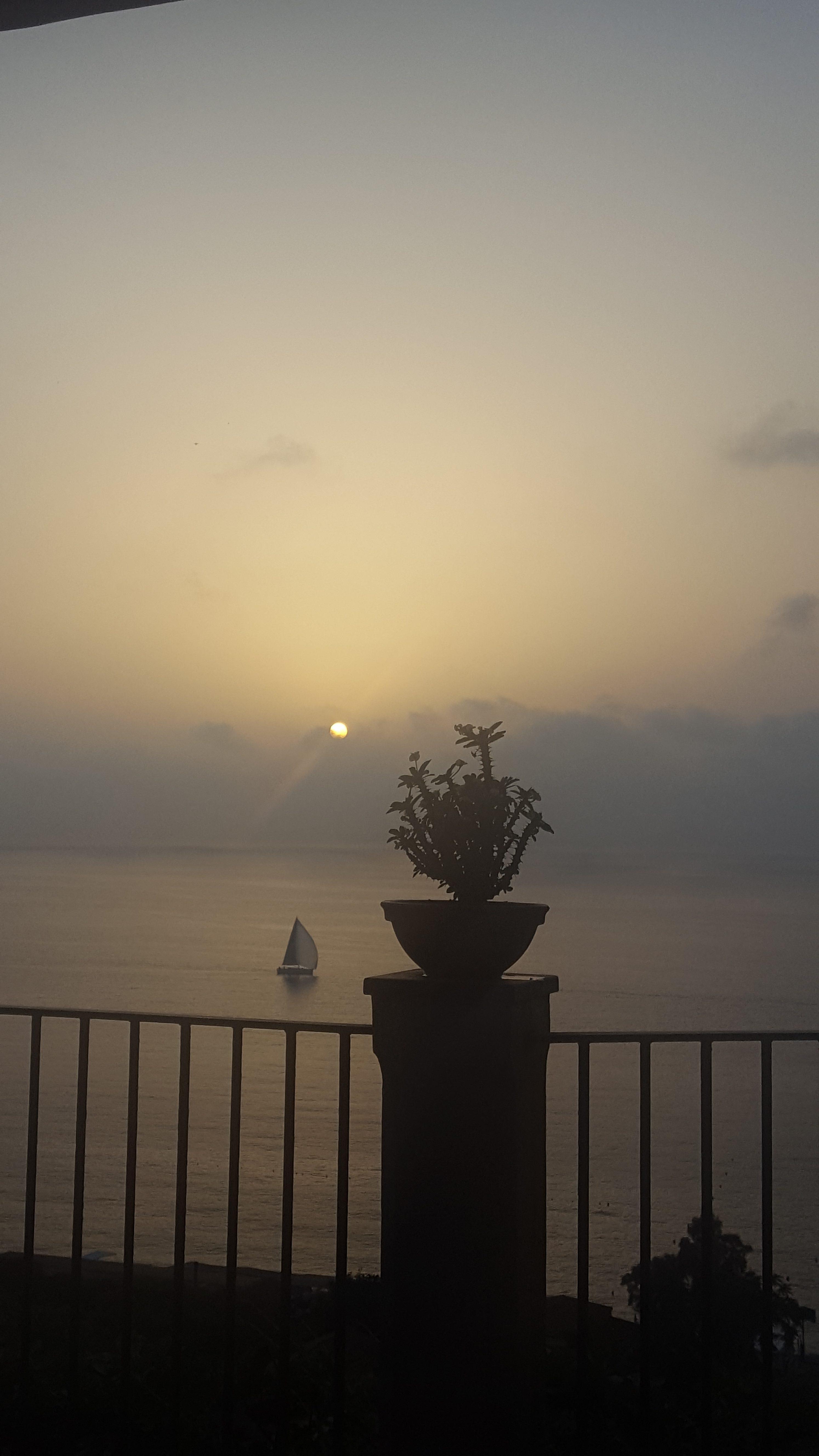 Sonnenuntergang Tropea - Kalabrien - Bella amore mio - Italien-Blog