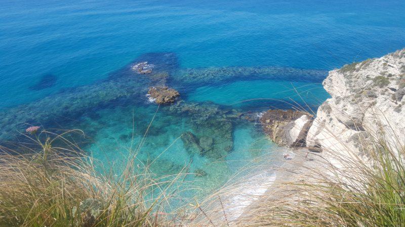 kalabrien, azurro ,strand, meer, kristallklares_wasser,