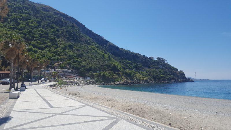 marina_grande, strandpromenade, scilla, kalabrien, strand, bella_italia, autorin, meer