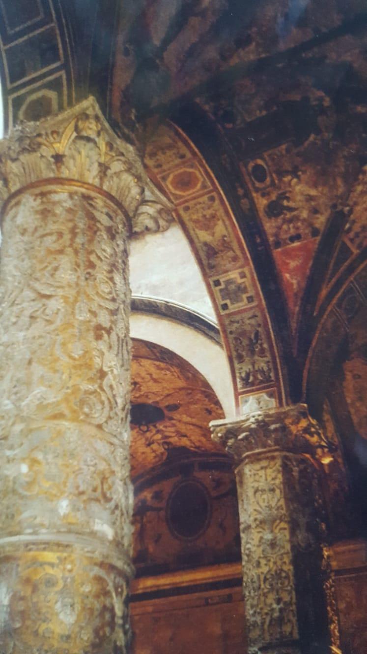palazzo_vecchio, florenz, goldene_saeulen, florenz-geschichte, kunst-in-florenz, italien, renaissance,